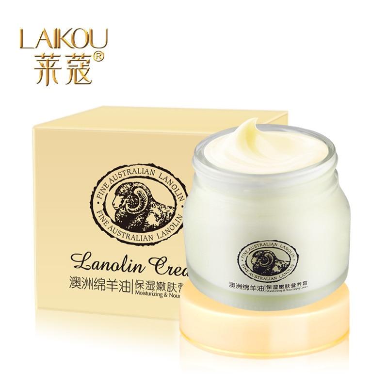 ФОТО 2017 Unisex Direct Selling Hot Sale Moisturizing Face Cream Ageless Lai Kou Lanolin Sheep Placenta Skin Care For