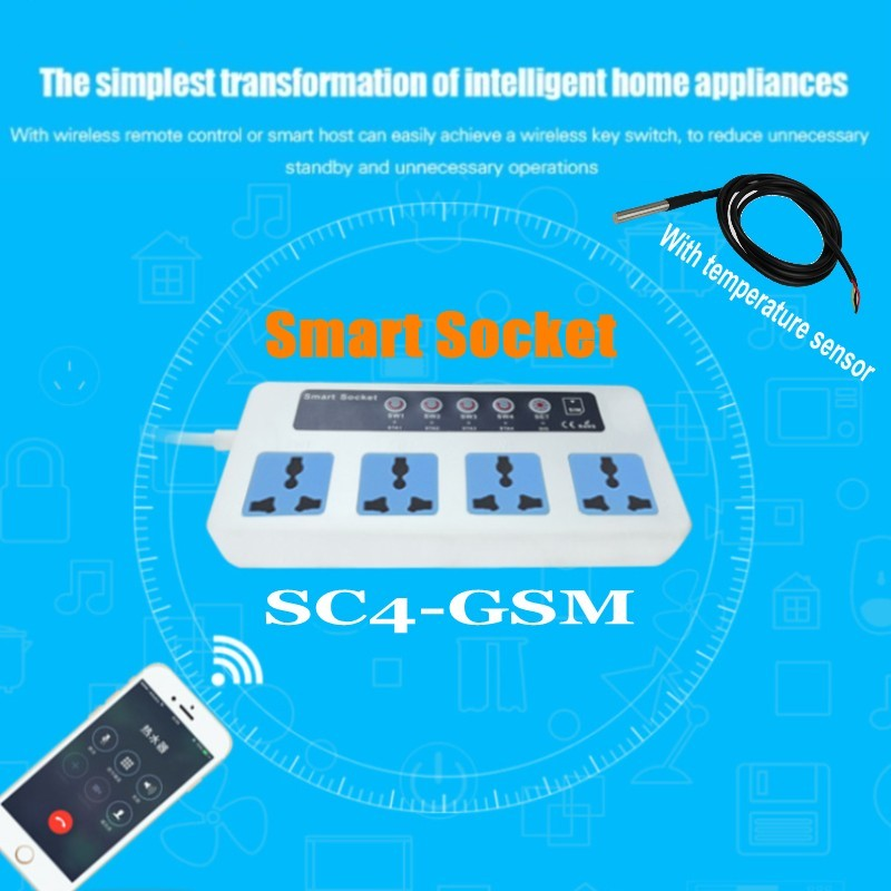 With-temperature-sensor-4-Outlets-GSM-SMS-Remote-Control-Wireless-Smart-Switch-Power-Plug-socket-module