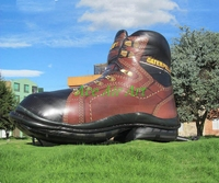 Big Inflatable Shoes Model Giant Inflatable Shoe For Advertising Decoration