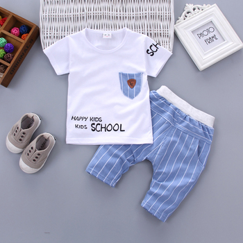 Newborn baby boy happy kid clothes sets for kids