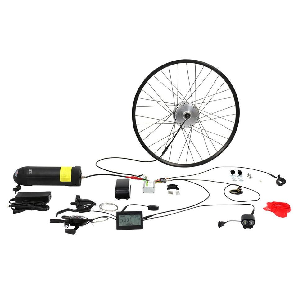 36v250w Motor Elektrische Fiets Kit Met Achterwielaandrijving 36v10ah Lithium Batterij Electric Bike Kit Motor Electric Bikebike Electric Motor Kit Aliexpress