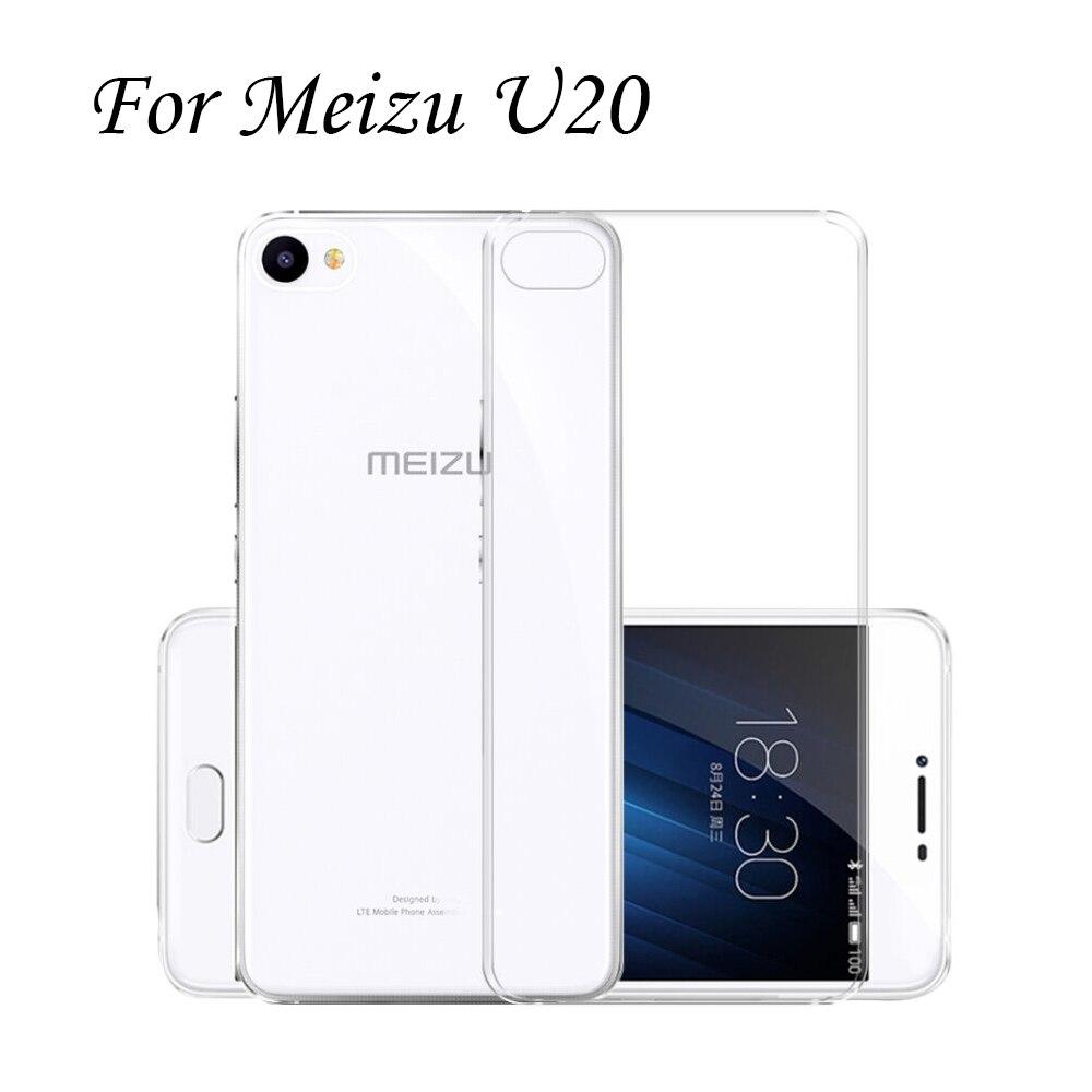 Holazing оптовая продажа прозрачный гель ТПУ Резиновая Мягкий силиконовый чехол для Meizu U20 ультра тонкий защитный кожного покрова