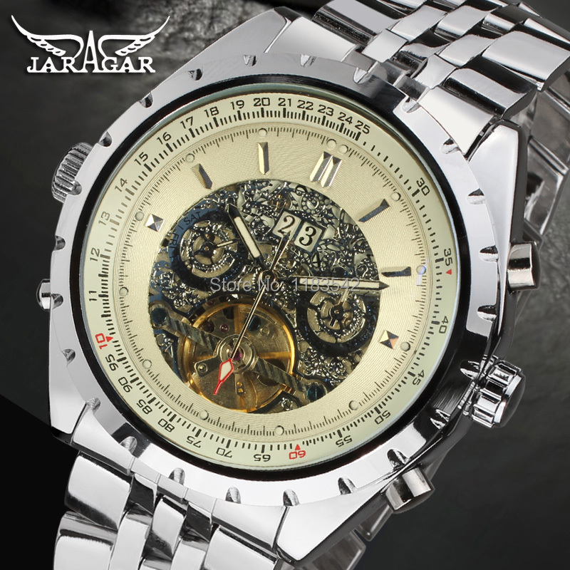 Famous Brand Jargar Automatic Watches Men Business Style Men Watch Free Shipping JAG212M4S1