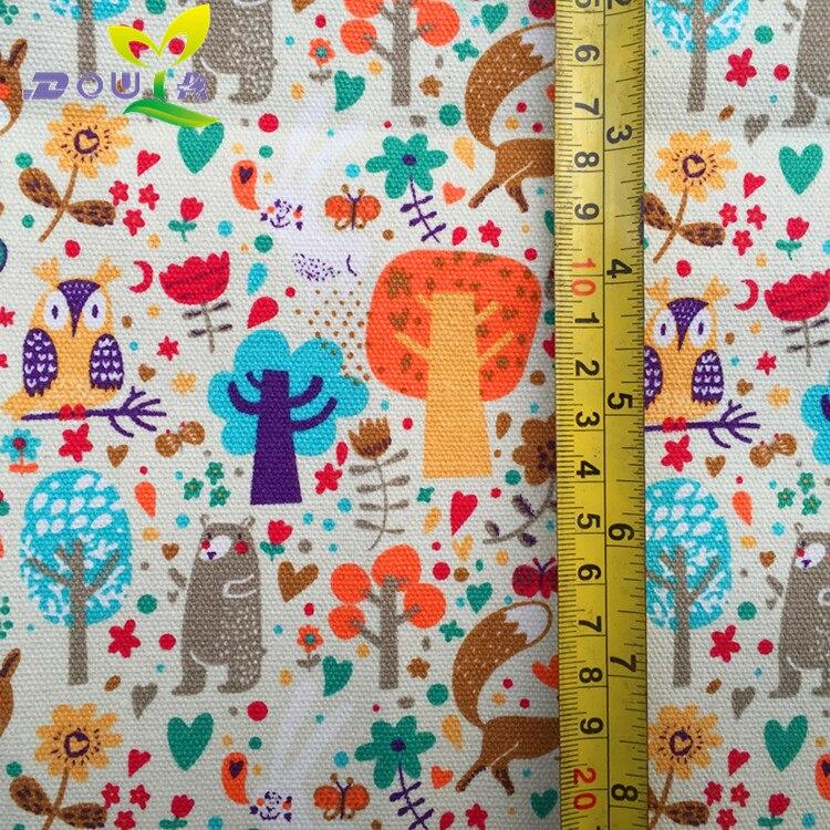 1 Yards/alberi Animale Stampato Tela Tessuto Mano FAI DA TE 12 Anfan Scarpe Di  Stoffa Tenda Divano Di Stoffa Cuscino Borsa In 1 Yards/alberi Animale ...