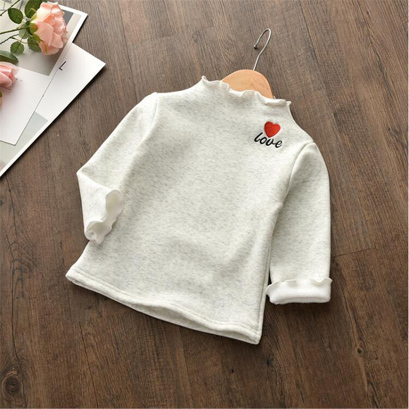 BibiCola 2018 spring boys girls cute tshirt warm sweatshirt children winter pajamas top clothes baby kids girls coat clothing