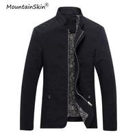 Mountainskin Plus Size Men S Jackets Casual Mens Coats Fashion Slim Fit Male Jacket Solid Men