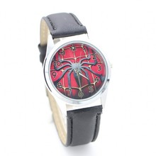 New arrival Spiderman desgin kids cartoon Fashion Watches Quartz children Jelly