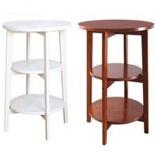 62.5*45.5 см три Слои твердой древесины тумбочка Диван сбоку Кофе стол современный угловой столик круглый Гостиная Малый таблица