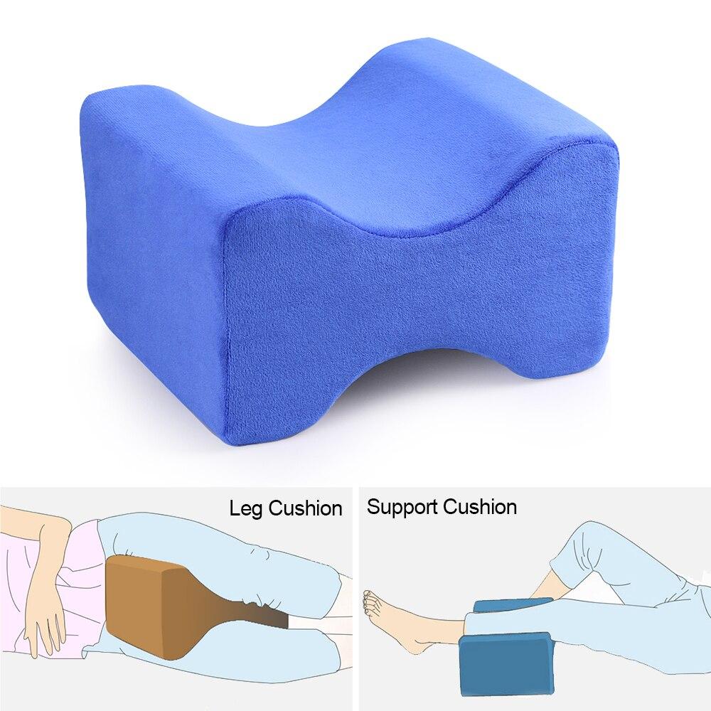 Urijk Memory Foam Knee Pillow For Sleeping Thigh Leg Pad