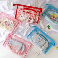 3pcs Set Cartoon Hello Kitty Little Twin Stars Waterpoof Bags For Kids Ufufy Coin Purses Doll