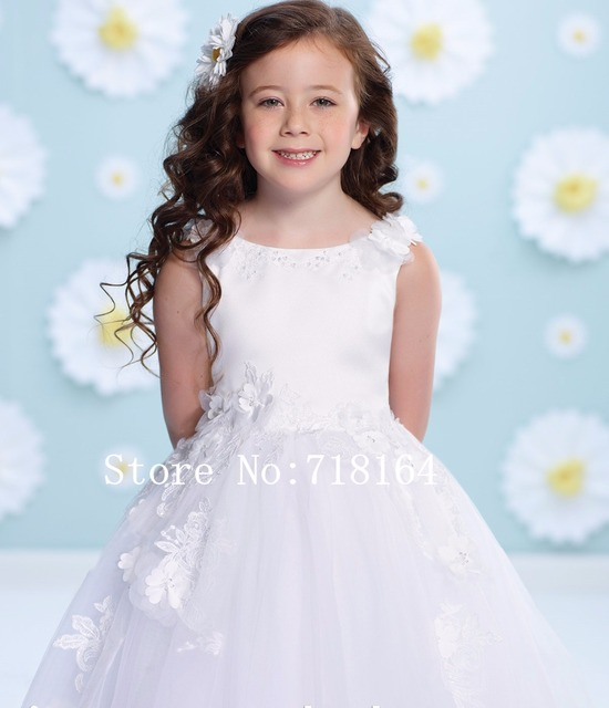 Cheap flower girl dresses made in china