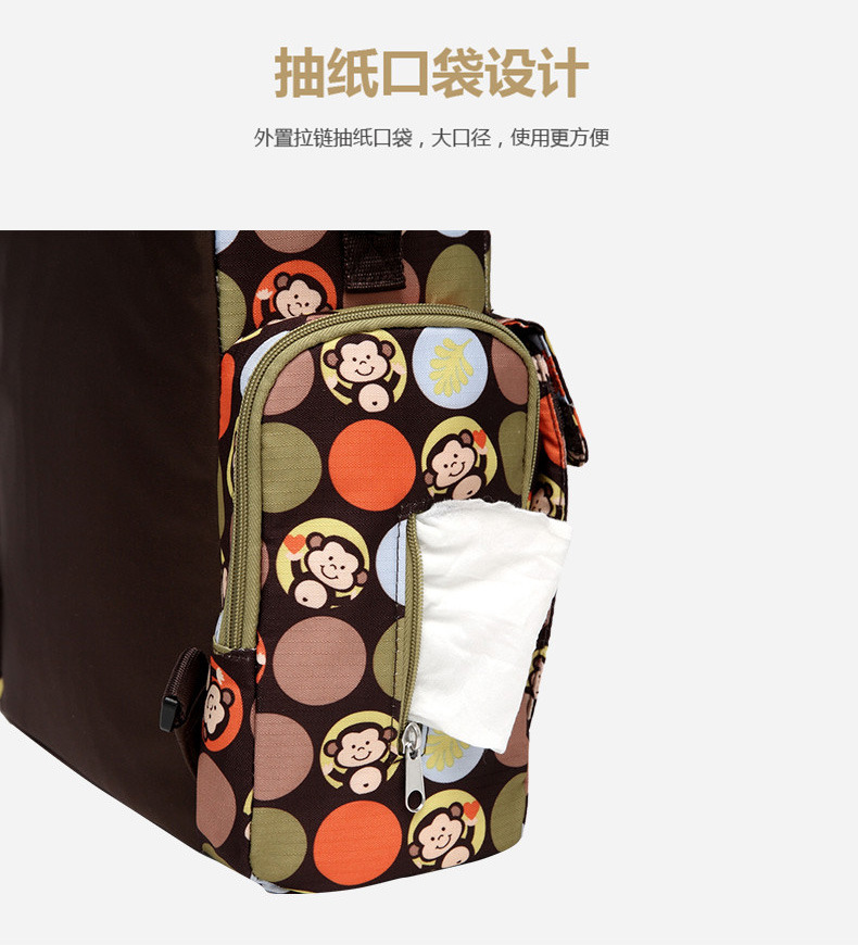 2 in 1 Baby Dining Chair Diaper Backpack Large Mummy Bag Waterproof Safety Belt booster Seat Folding Travel Maternity Baby Bags