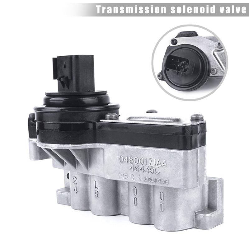 Remanufactured Transmission Shift Solenoid Block 04800171AA for Dodge Jeep CSL2018Remanufactured Transmission Shift Solenoid Block 04800171AA for Dodge Jeep CSL2018
