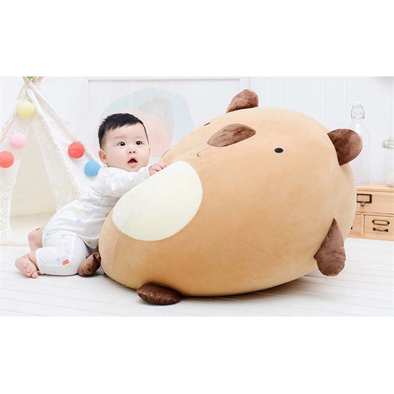 Metoo Lazy Sofa Chair Tatami Creative Bean Bag Single Small Sofa Adult Baby Child Birthday Gift 50*60CM lazy sofa bean bag with pedal creative single sofa bedroom living room lazy stool tatami