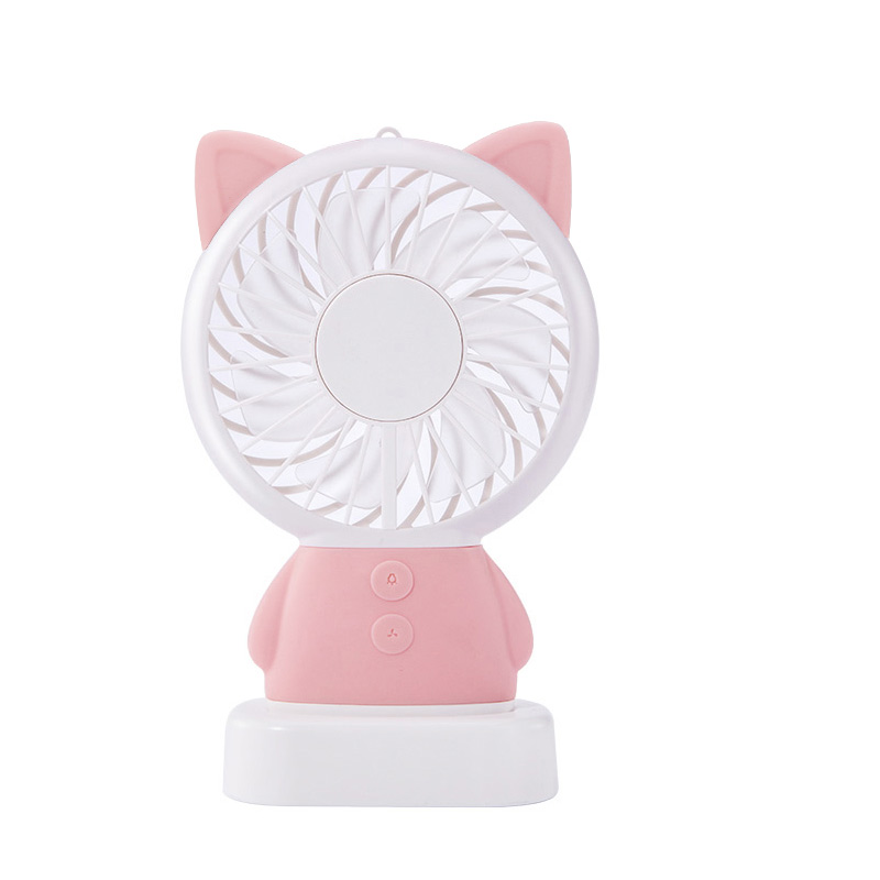 Portable Desk Fan USB cooler Fan Mini USB Fan cool air conditioner rechargeable fan for laptop desktop Computer home office handheld cartoon mini fan usb portable fan for home outdoor desk rechargeable air conditioner with 1200ma rechargeable battery