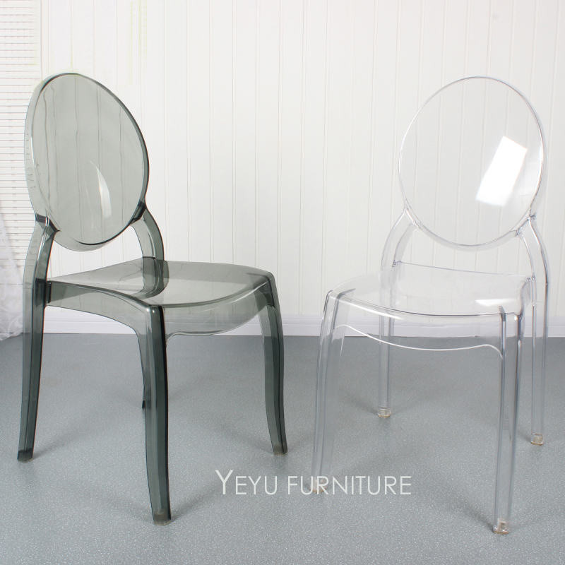 polycarbonate furniture. modern design stackable transparent clear polycarbonate acrylic dining chair fashion crystal stack cafe 2pcs furniture