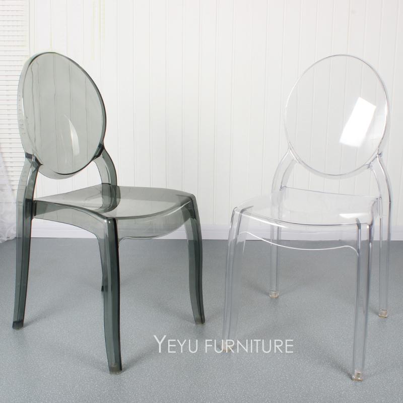 moderno diseo apilable de de acrlico silla de comedor diseo de moda