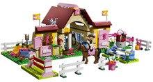 BELA Friends Series Heartlake Stables Building Blocks Classic For Girl Kids Model Toys  Marvel Compatible Legoe
