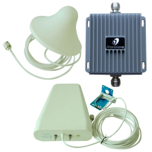 Dual band GSM 3G 850MHz /1900MHz wideband 55dB Gain Mobile Cell phone Signal booster repeater amplifier extenders