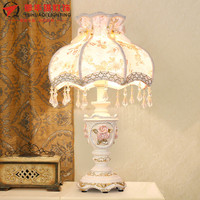 TUDA 2017 Table Lamp European Style Luxury Simple Princess Table Lamp Bedside Table Lamp for Bedroom