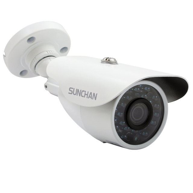 SunChan CCTV Camera CMOS 1200TVL IR Cut Filter 1MP AHD Camera 720P Outdoor Waterproof Bullet Home Surveillance Security Camera