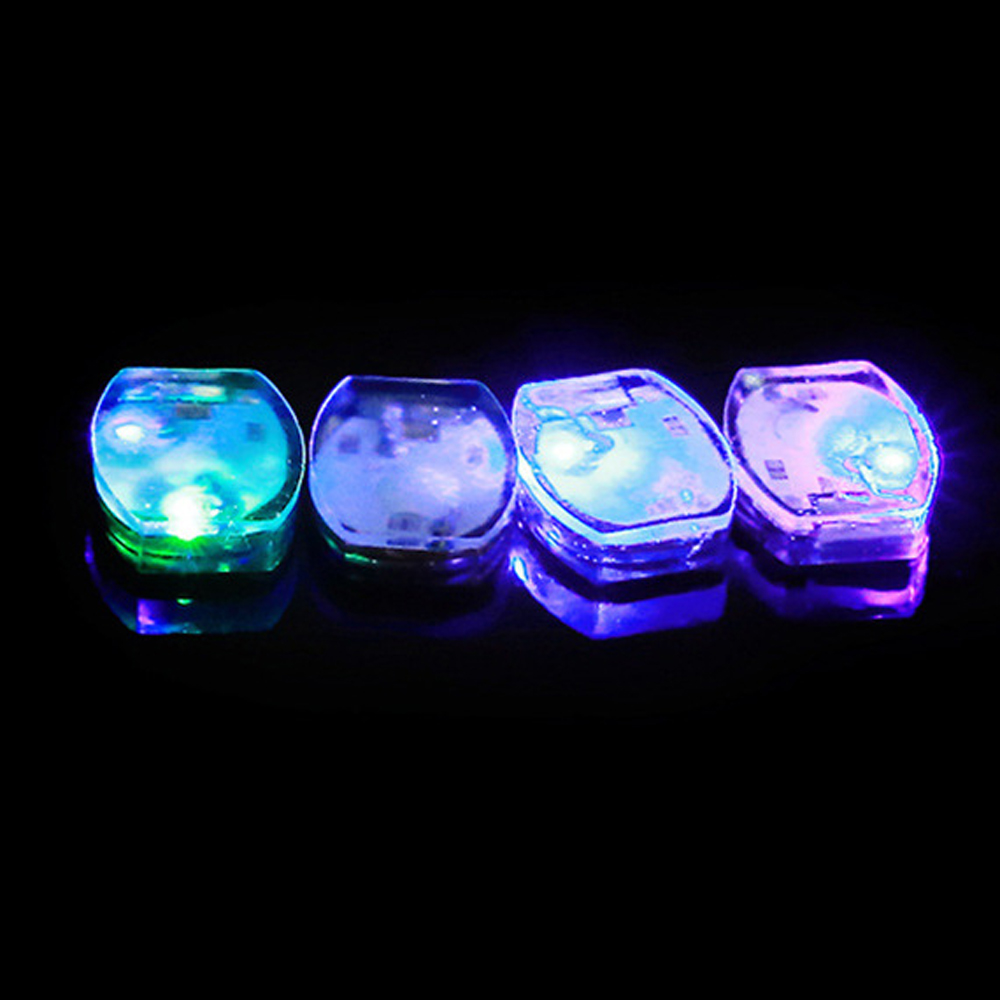 5 Pcs/lot Led Flashing Shoe Light DIY Lights Bag Shirt Clothes Waterproof Blinking Balloon Paper Lantern Lamps Party Decorations
