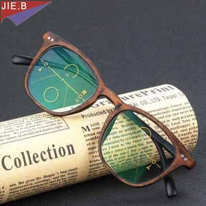 Image 5 - 2019 Ultra Light antifatigue Progressive Multifocal Fashion  Reading Glasses men Female Bifocal Intelligence diopter glasses