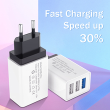 3 Ports USB Charger Universal Wall Charger For iPhone 6 7 8