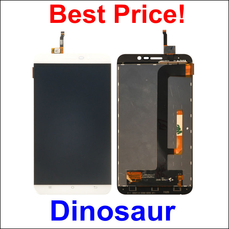 LCD Display +Digitizer Touch Screen Assembly For CUBOT Dinosaur Cellphone 5.5 White color In Stock!