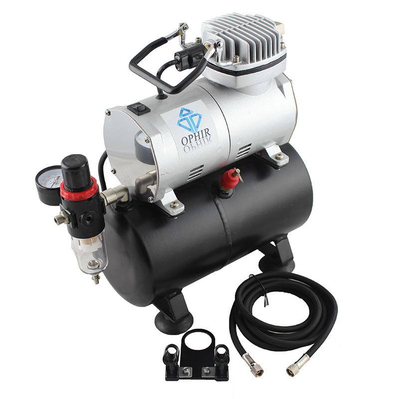 Mini air compressor for painting steel wool spinning