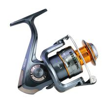 лучшая цена 14+1axis Metal Wire Cup Fishing Reel Left/Right Interchangeable Spinning Wheel Reel Fishing Equipment