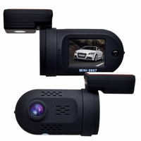 Mini 0807 HD 1080P GPS Car DVR DashCam Auto Video Registrator Recorder W Capacitor Dual Memory