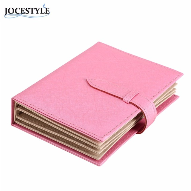 Notebook Earring Jewelry Organizer  Leather Earring Jewelry Storage Box Women gift box For Jewelry Display for decorations
