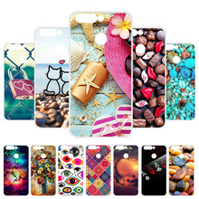 Vanveet Case For Honor 8 Pro Silicone Flamingo Painted Cover Huawei V9 Honor8 Fundas Coque Housing