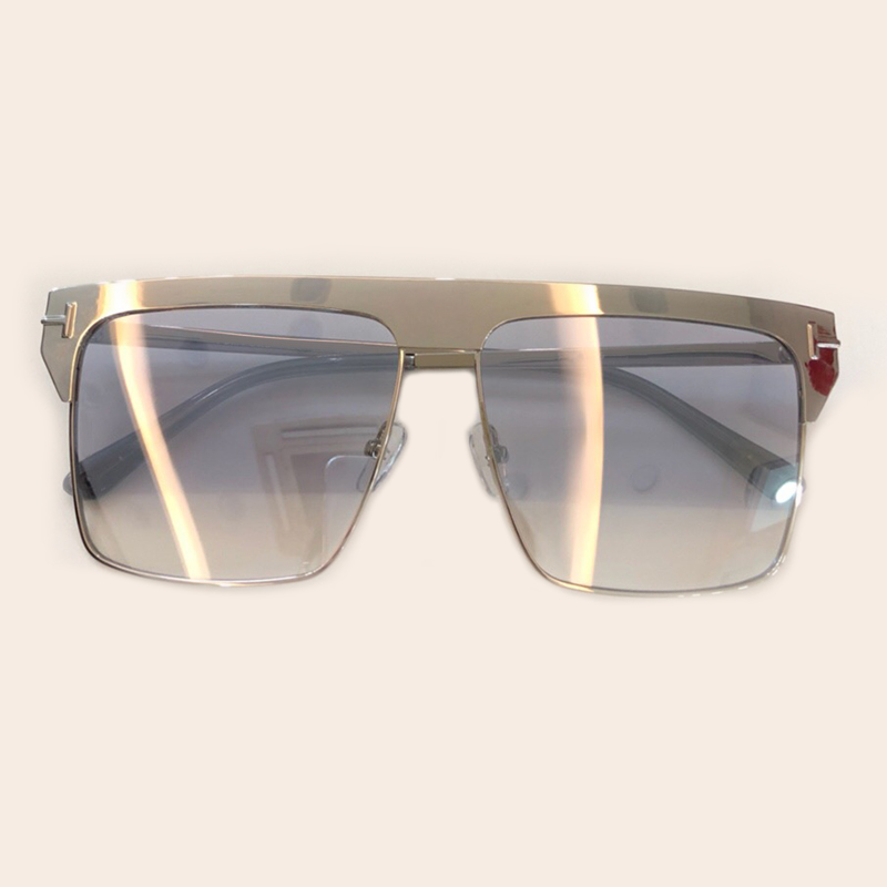 Designer no Objektiv no Marke Rahmen Frauen Verpackung Sunglasses Sunglasses 3 Neue Box Frühjahr Sonnenbrille Sunglasses 2 no Mit 2019 Sol Feminino No Legierung De Sunglasses Oculos Uv400 1 4 Gradienten pv1qwXx