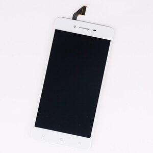 Image 5 - Originale 5.0 pollici Per Oppo A37 LCD Display Touch Screen Digitizer Assembly Mobile Accessori Nero Bianco Nero con i regali