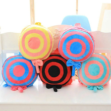 Colorful Lollipop Plush Toy Baby Backpacks Stuffed Kid Schoolbag Christmas Holiday Birthday Gift