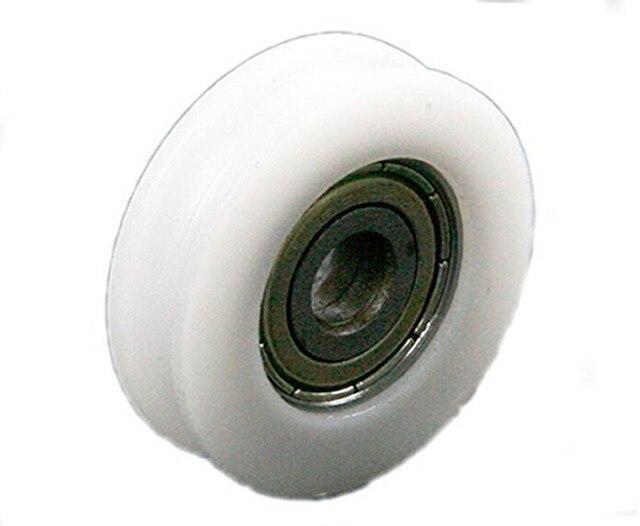 Wielen Voor Meubels : 4 stks nylon flexibele 8*46.5*10mm u groefkogellagers wielen voor