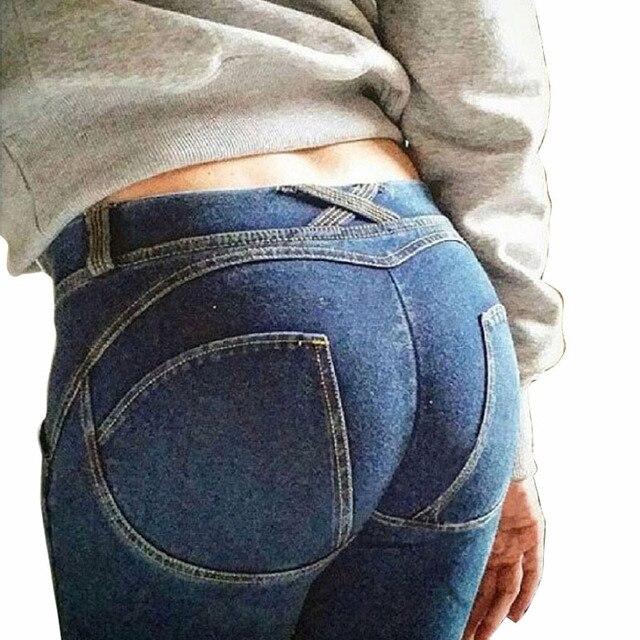 2016 New Leggings Zipper Fitness Leggings Women's Bodybuilding Push Up Legins Jeans Jeggings Size Pants CK1208