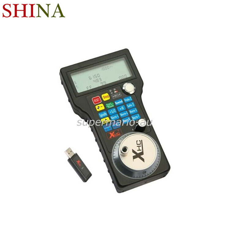 Wireless Mach3 MPG Pendant lathe Handwheel for CNC Mac.Mach 3, 4 axis Wholesale Price HandWheel Machine Tool Accessories control wholesale price foot control pedal for welding machine