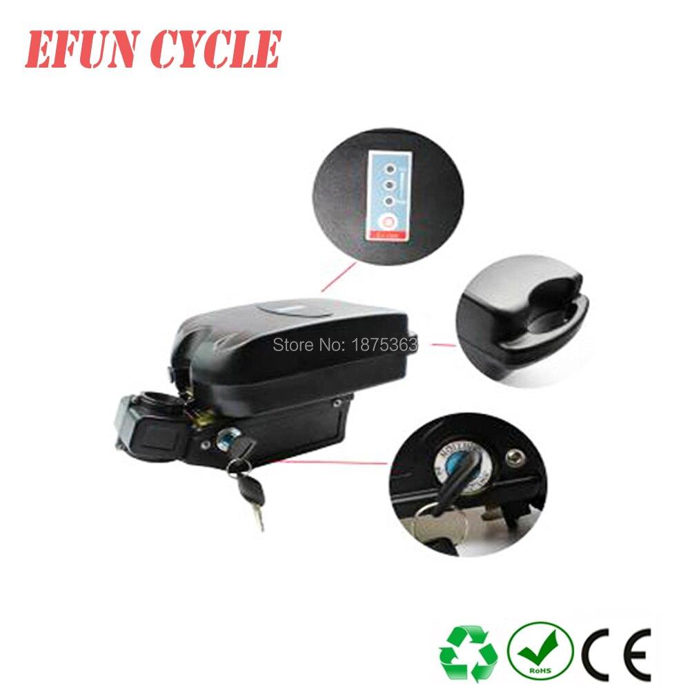 Batterie au Lithium-ion de batterie d'ebike de petite grenouille 48 V 10Ah pour le vélo électrique/gros vélo de pneu compitable avec le moteur d'entraînement de milieu de BBSHD