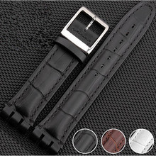 цены High Quality Strap for S For Watch Original 17/19 /23 mm Genuine Leather Band Waterproof  Watch Band+Tools