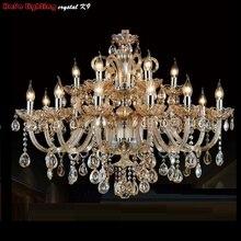 Современная хрустальная люстра освещение для гостиной спальни Кристалл K9 Люстра Подвеска Современная хрустальная лампа люстры огни