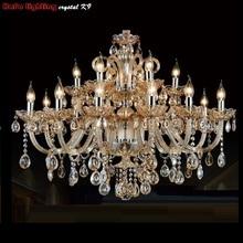 Modern Crystal Chandelier Lighting For Living Room Bedroom Crystal K9 Pendant Chandelier Modern Crystal Lamp Chandeliers Lights