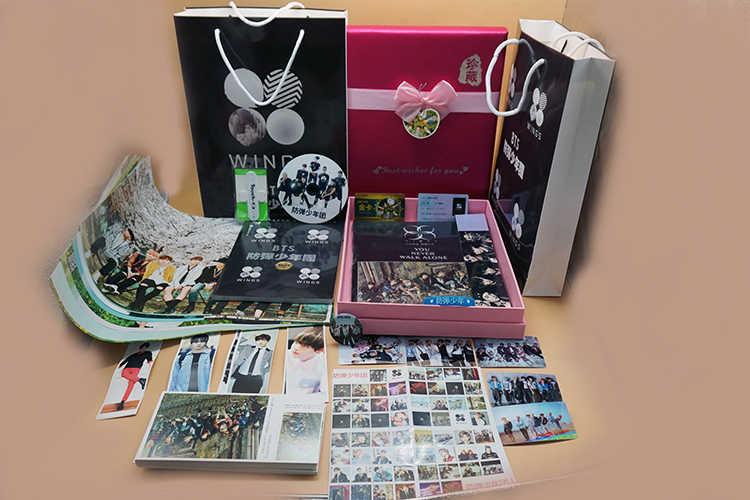 Kpop Bangtan Jongens/Postkaart/Portret/Bladwijzer/Cd/Posters/Handtekening Foto/Sticker/Ondersteuning gift Collection