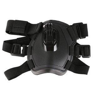 Image 3 - לירות כתף כלב להביא רתם חזה רצועת חגורת הר עבור GoPro Hero 6 5 4 3 2 עבור SJ4000 פעולה מצלמה