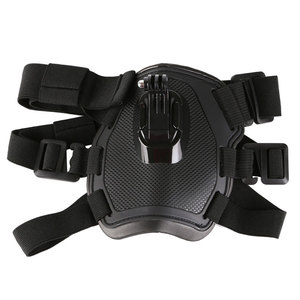 Image 3 - SCHIETEN Hond Fetch Harnas Borstband Schouderriem Mount Voor GoPro Hero 6 5 4 3 2 voor SJ4000 Actie Camera