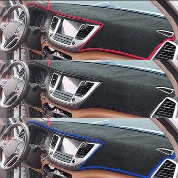 สำหรับ Honda fit 2014 2015 2016-2018 ไดรฟ์มือขวาแดชบอร์ดรถ Sun Shade Dash Mat พรมอุปกรณ์ตกแต่งภายใน