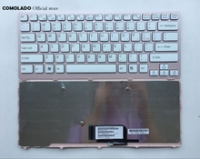 US English Keyboard For Sony Vaio VPC-CW VPC CW VPCCW CW16EC CW18FC pink Frame Laptop Keyboard US Layout все цены