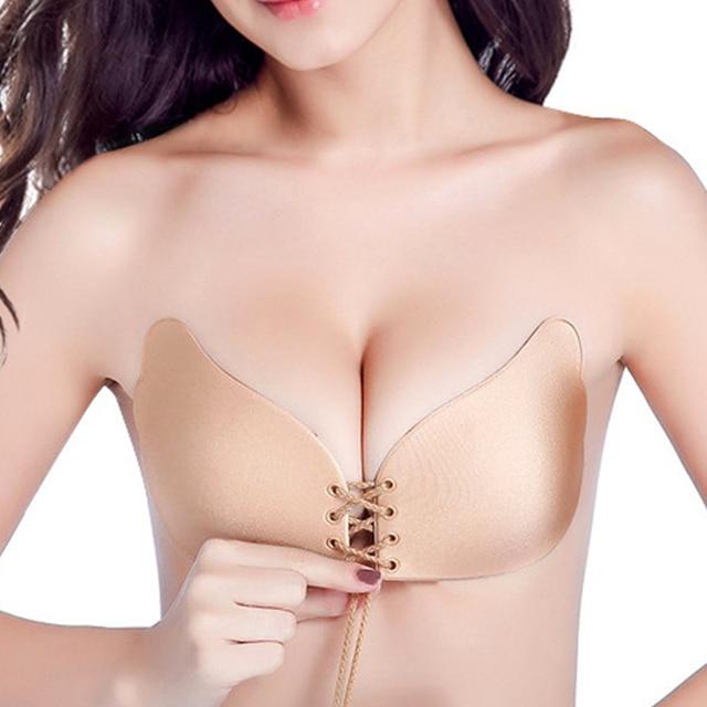 Fashion Angel Sexy Bra Seamless Strapless Bra Female Must Silicone Push Up Bra Wire Free Invisible Bra